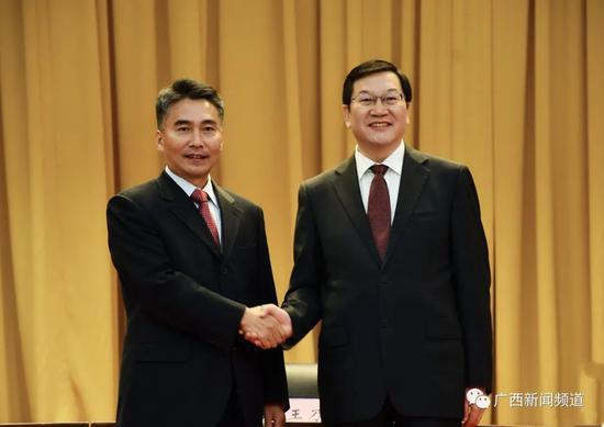 蔡锦军任广西北海市委书记图片