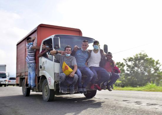 185名非法移民入境美国时新冠呈阳性 是上周近两倍