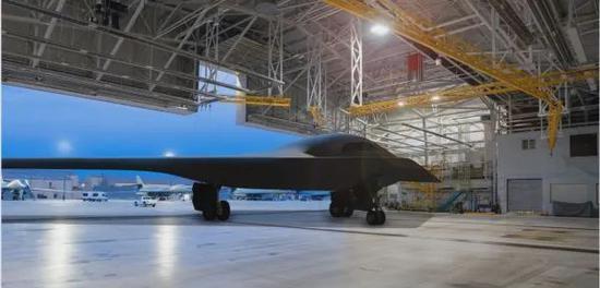 ▲资料图片:美军公布的B-21轰炸机想象图(美国空军网站)