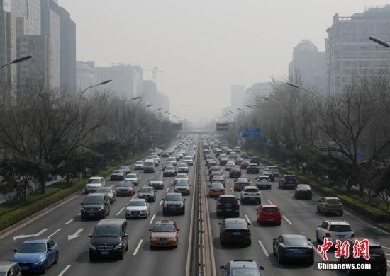 资料图:重污染天气。中新社记者 刘关关 摄