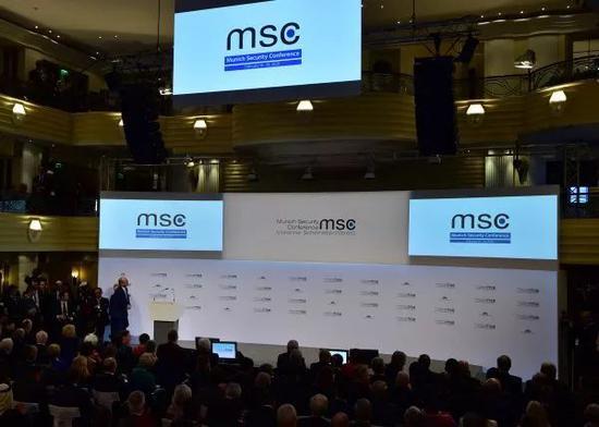 ▲第56屆慕尼黑安全會議(慕安會)14日在德國南部城市慕尼黑開幕。(新華社)