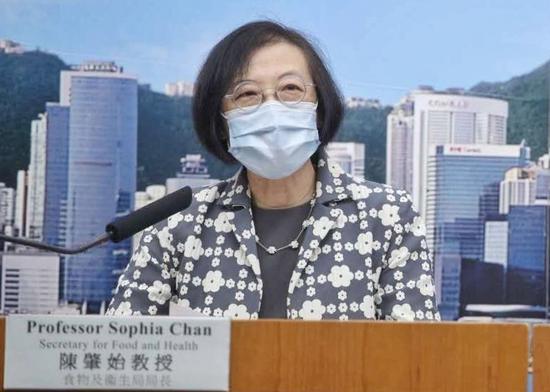 """出现社区群组感染 香港""""限聚令""""及入境限制再延长图片"""