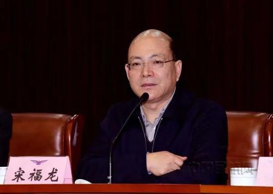 宋福龙任广东省监委代理主任图片