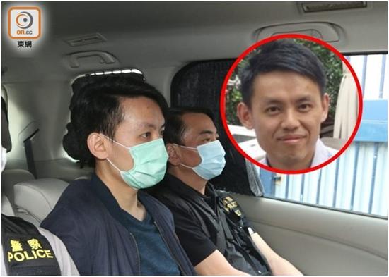港媒:涉嫌参与去年香港理大非法集结,南区区议会主席罗健熙被捕图片