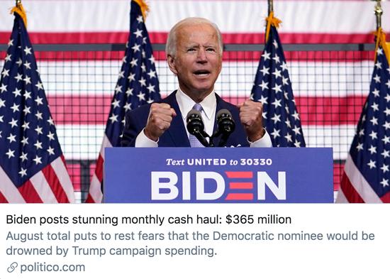 """为赢得连任,特朗普打算自掏腰包,""""花多少钱都行"""""""