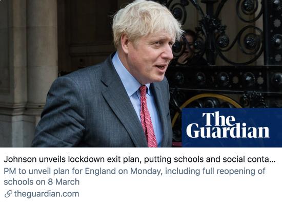 """英国迎来""""令人激动""""的一天"""