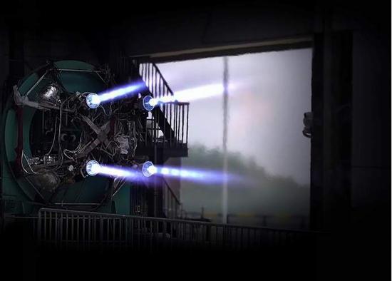 太阳2:0太阳2秒朱雀二号创造火箭发动机单次试车图片