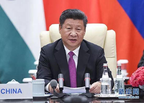 2016年9月4日,金砖国度指导人非正式会晤在杭州举行,国度主席习近平列席。新华社记者李学仁摄