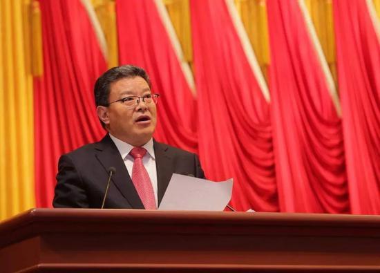 青岛市长跨省赴任市委书记图片