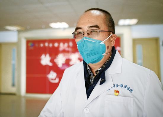 彩票代理健委副主彩票代理任已任金银潭医院院长图片