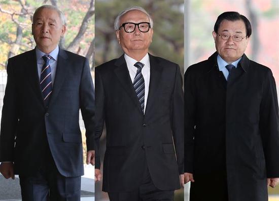 """涉嫌向朴槿惠""""上供""""的三位前国情院院长"""
