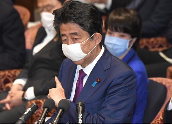 日本首相安倍晋三(每日新闻)