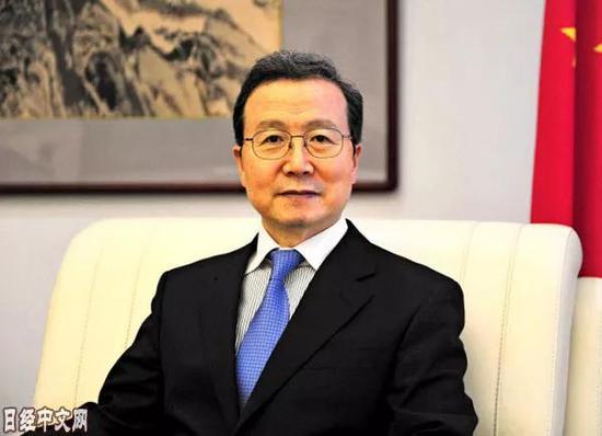 ▲中国驻日本大使程永华近日在《日本经济新闻》撰文称,中方愿与日、韩一道,为促进地区和世界的和平、稳定与繁荣做出新的贡献。