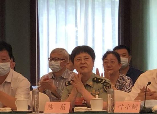 陈薇院士:3月16日,全世界第一针新冠疫苗打在武汉图片