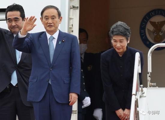 日本重大外交开始了 异样的余光瞄向中国图片