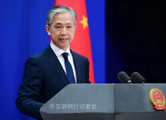 美国会通过决议谴责中方实施香港国安法,汪文斌:赤裸裸的双标图片