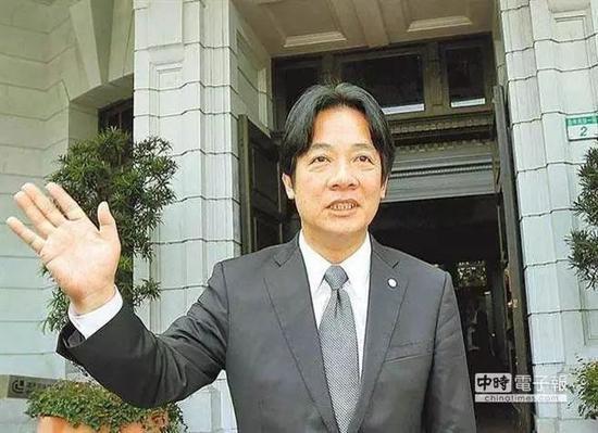 ▲赖清德言论前后不一。(台湾中时电子报)