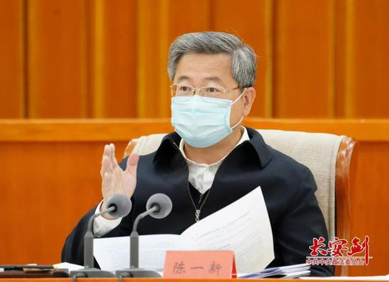 武汉战疫后陈一新首次现身北京,释放了一个关键信号图片