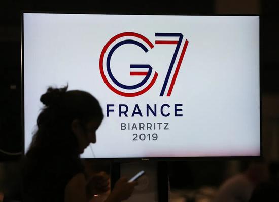 ▲资料图片:2019年8月,G7峰会在法国举行。(新华社)