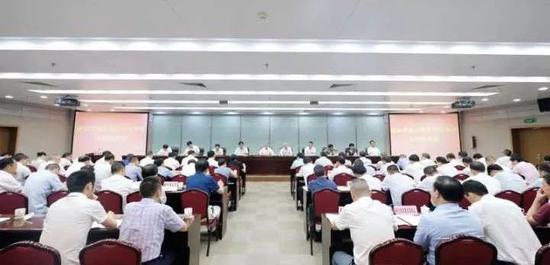 """浙江丽水开百日攻坚推进会:胡海峰先对此""""点赞"""""""