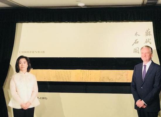 佳士得香港揭幕仪式现场。 艺术头条 图