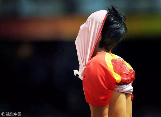 ▵2008年8月18日,刘翔因伤而退出比赛