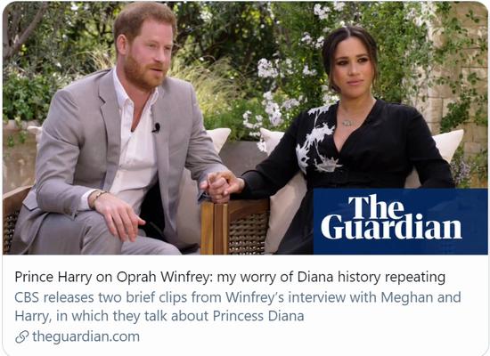 哈里王子将在脱口秀曝王室惊人内幕?