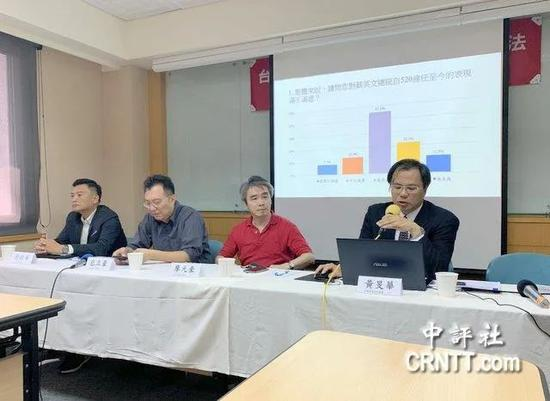 岛内最新民调:80%台湾民众认为大陆不可能攻台 愿上战场者不到一半