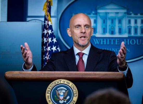 美国食药局解雇白宫钦定发言人:上任11天 无医学背景