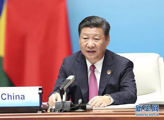 2017年9月4日,金砖国度指导人第九次会晤在厦门国际会议中心举行。国度主席习近平掌管会晤并发表重要讲话。 新华社记者 马占成 摄