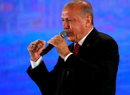 土耳其总统埃我多安图自路透社