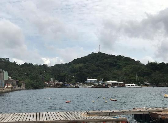 ▲2018年8月5日拍摄的帕劳科罗尔海边。(路透社)