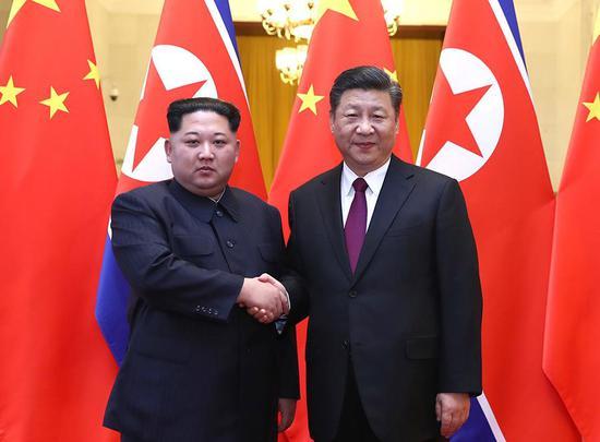 2018年3月25日至28日,应习近平邀请,朝鲜劳动党委员长、国务委员会委员长金正恩对我国进行非正式访问。