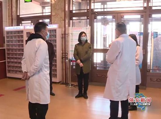 医院感控形势严峻,黑龙江派出4个督导组赶赴各地加强督导图片