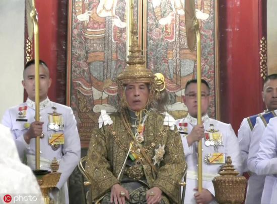 泰国国王哇集拉隆功 @IC Photo