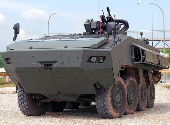 新加坡军队的AV-81装甲车