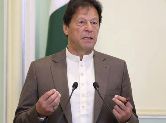 巴基斯坦总理伊姆兰·汗(路透社)