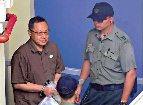 """戴耀廷因非法""""占中""""案被判囚16个月(图源:大公报)"""