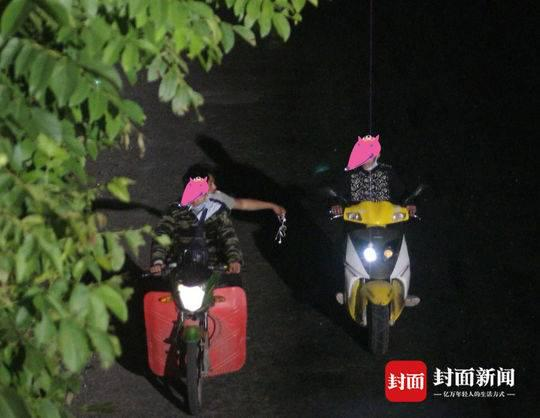 该偷车团队在遂宁境内多次实施盗窃。