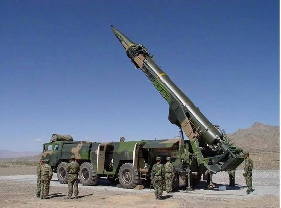 东风-15弹道导弹