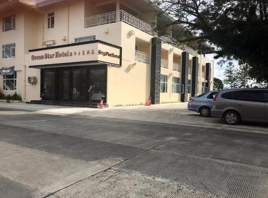 ▲2018年8月6日,帕劳的海洋之星酒店空无一人。(路透社)