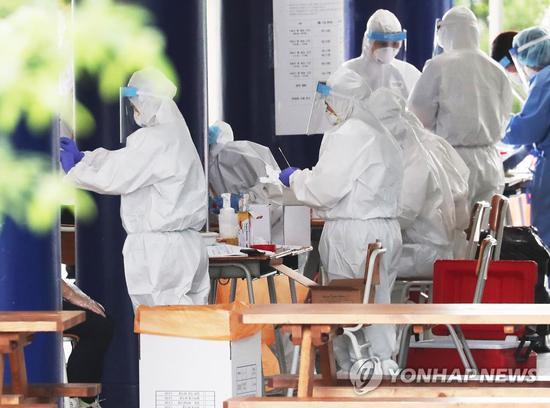 韩国单日新增再次过百:本地病例85人 创4个半月最高