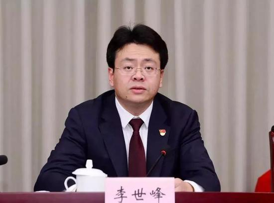 44岁李世峰,成全国最年轻地级市委书记