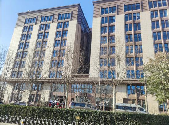 探访北京奥北科技园,员工有序撤离园区封锁消毒图片