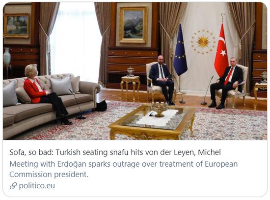 一把椅子引发的外交风波