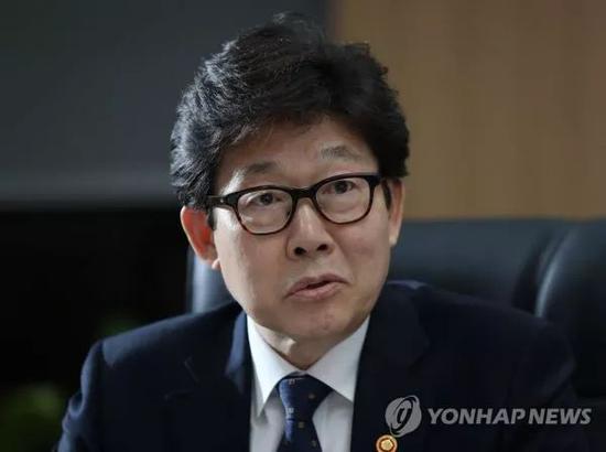 ▲韓國環境部長官趙明來(韓聯社)