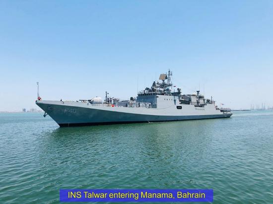 印度派9艘军舰赴4国运氧气 包括新加坡科威特