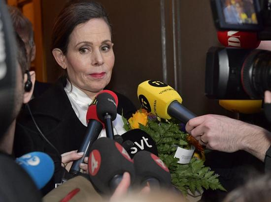 瑞典学院首位女性常务秘书辞职