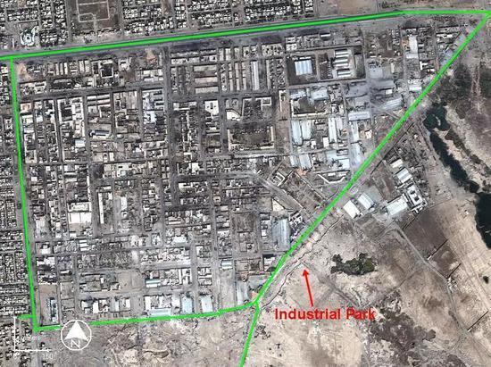 第二次费卢杰战役费卢杰市城区部分图