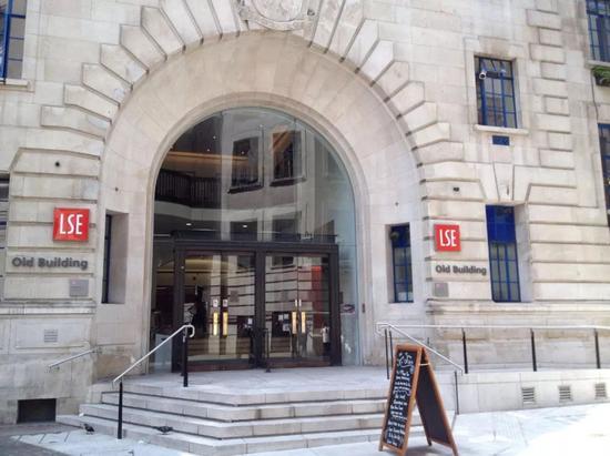 媒体:伦敦政经学院和蔡英文像